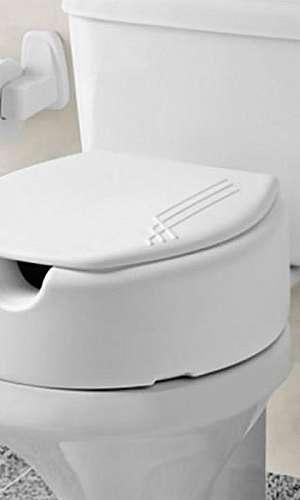 Assento de vaso sanitário elevado