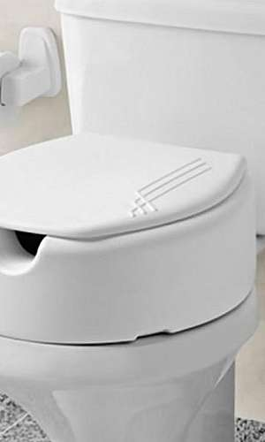 Assento vaso sanitário para idoso
