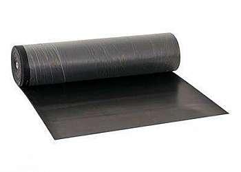 Distribuidor de lençol de borracha preto
