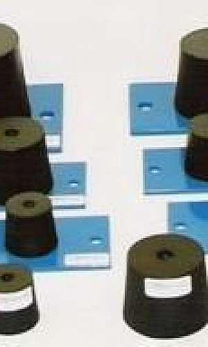 Fábrica de coxim de borracha