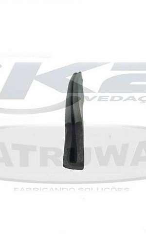 Perfil de borracha para vedação de portas