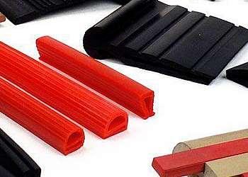 Perfil de silicone maciço