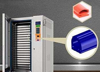 Perfil de silicone para vedação sp