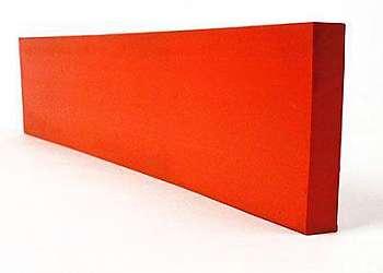 Perfil de silicone vermelho